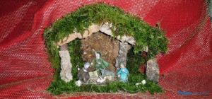 La cuna es un objeto clásico durante la temporada navideña.