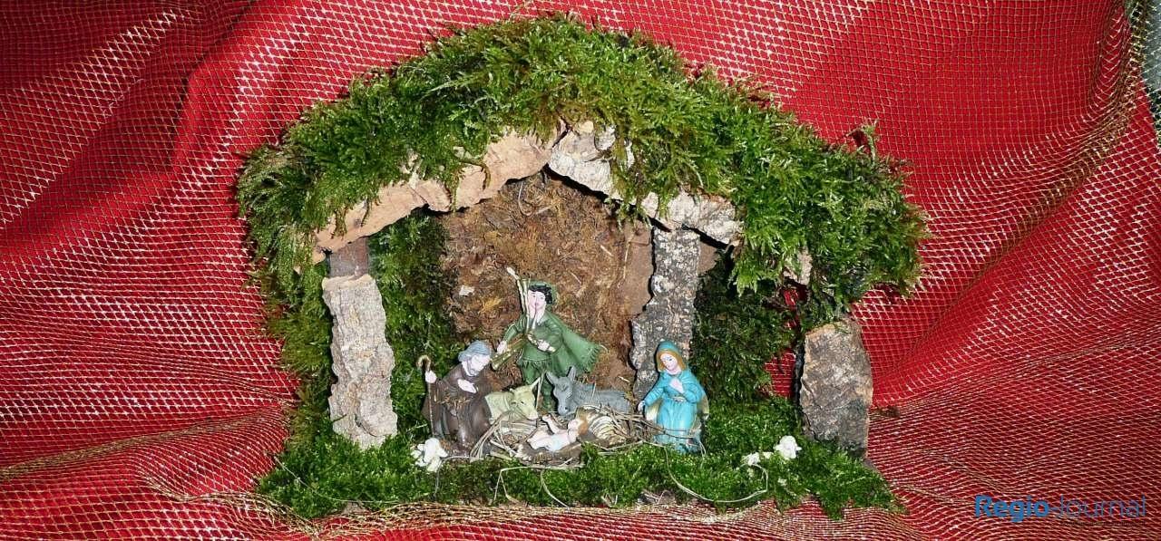 Die Krippe ist ein klassisches Objekt in der Weihnachtszeit
