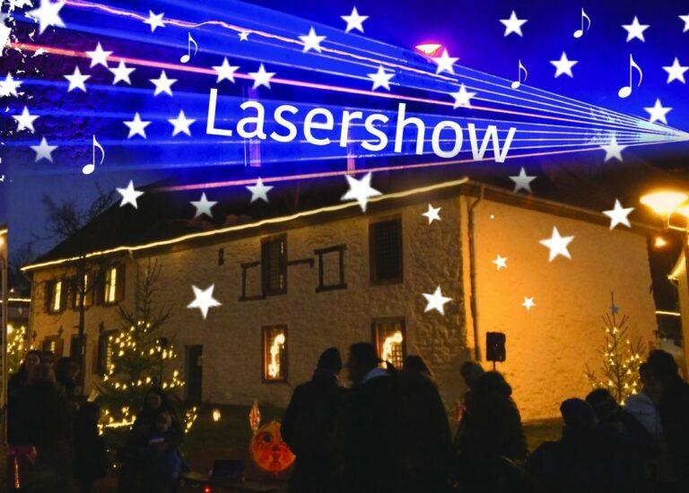 Weihnachtlicher Sternenzauber im Sulzbacher Salzbrunnenensemble | Bild: Kulturamt