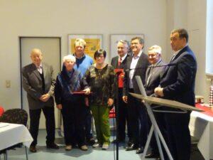 Die SPD Friedrichsthal feierte ihr 100-jähriges Bestehen   Bild: SPD OV Friedrichsthal