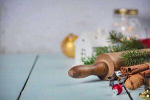 Panadería de navidad