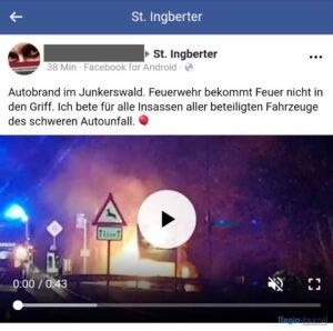 Falschmeldung Facebook