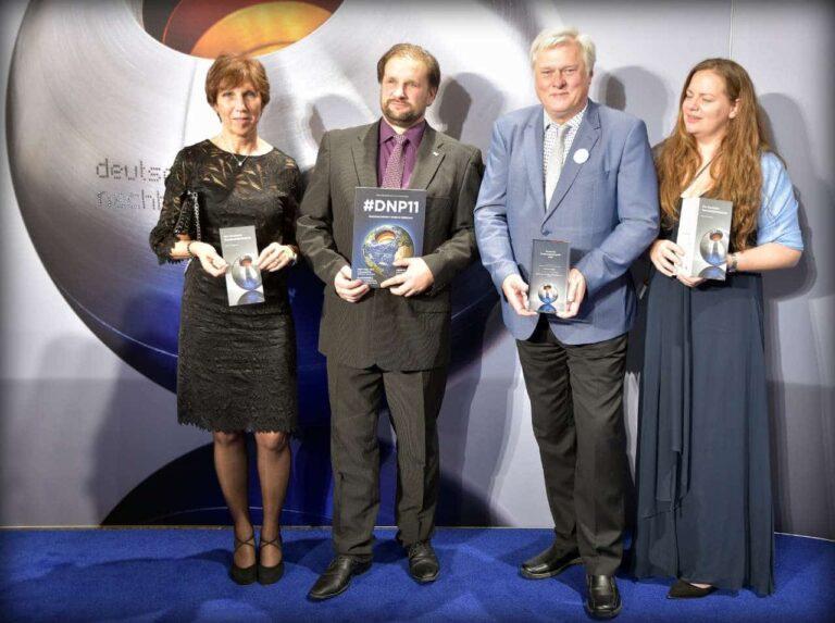 Ob Wagner (2. von rechts) mit Monika Conrad, Thomas Debrand und Melanie Fritsch | Bild: Michael Quiring