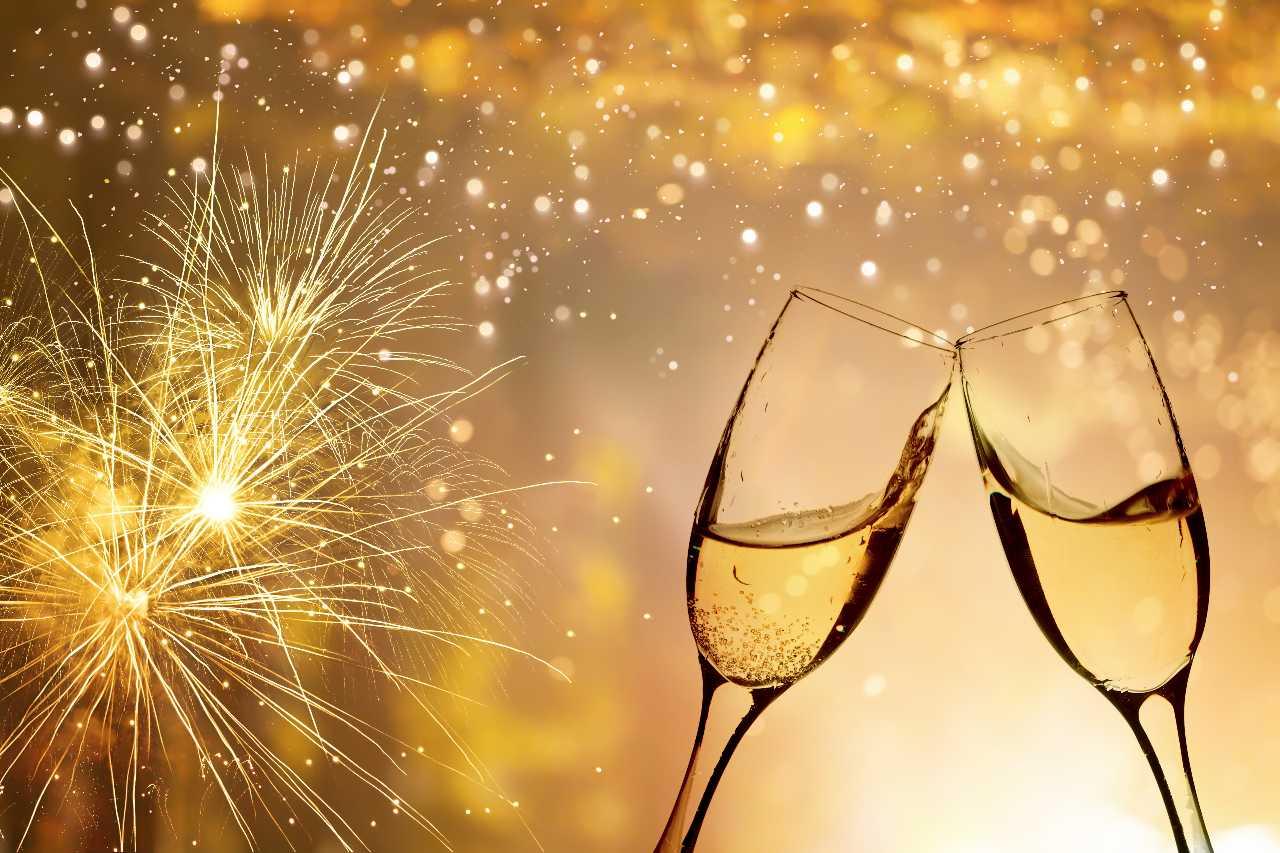 Champagner zum Jahreswechsel