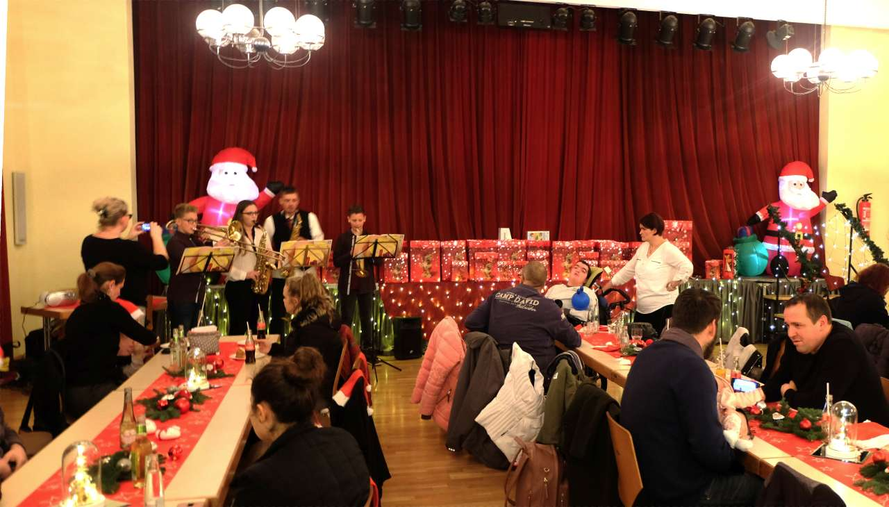 Weihnachtsfeier | Bild: Isabel Sand / Gemeinde Schiffweiler