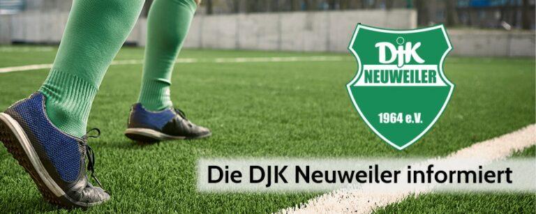 Die DJK Neuweiler informiert
