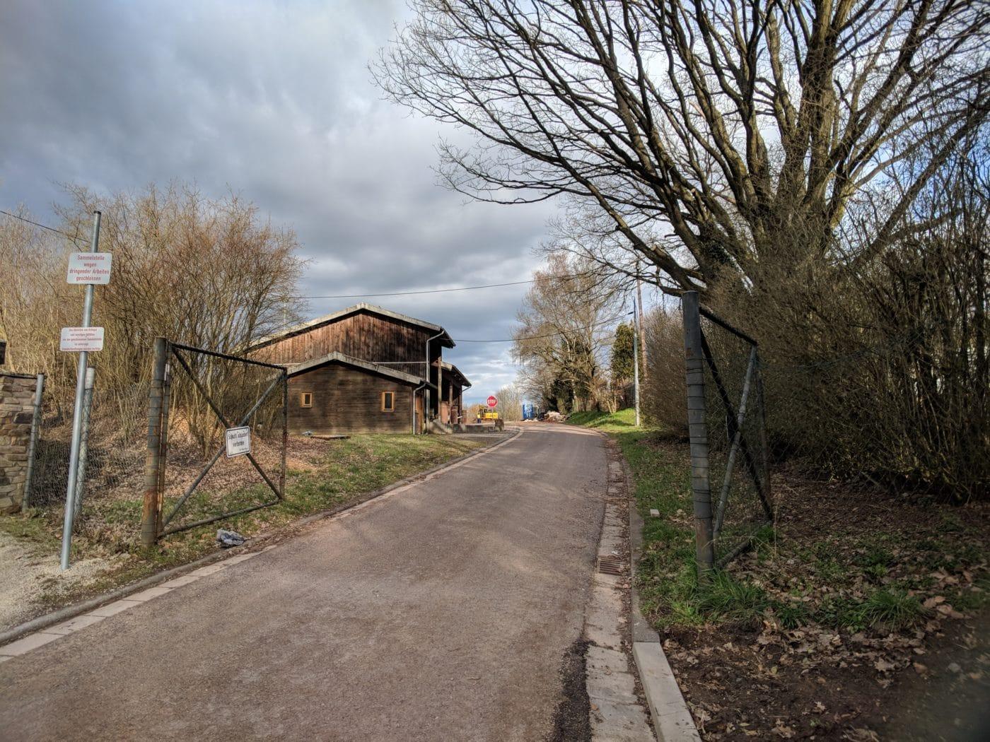 Die Grüngutsammelstelle der Stadt Friedrichsthal und Gemeinde Spiesen-Elversberg