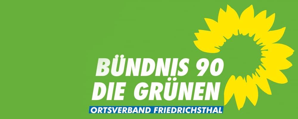 Pressemeldung der Grüne Friedrichsthal