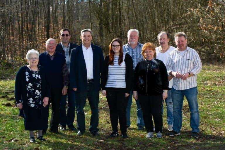Der neu gewählte Vorstand der LINKEN Friedrichsthal | Bild: Pasquale D'Angiolillo