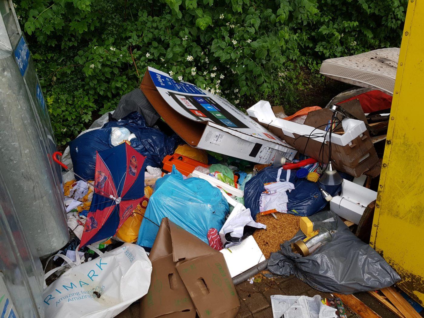 Illegale Müllentsorgung ist in Friedrichsthal ein Problem
