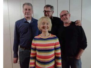 v.l.n.r. : Günter Leibrock,Anja Crawford, Christian Neu, Robert Gries | Bild: Elmar Gress