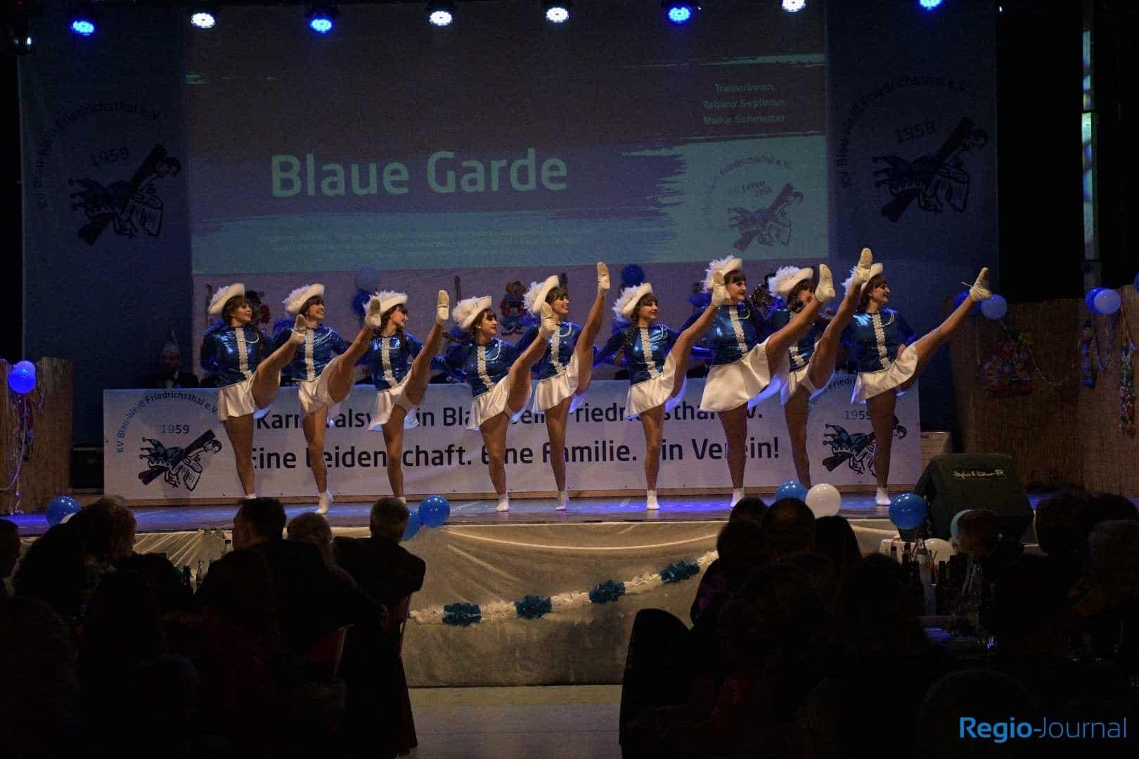 3. Galasitzung des KV Blau-Weiß Friedrichsthal