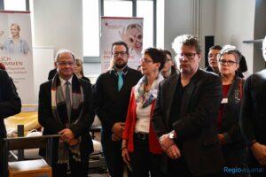 v.l.n.r.: HWK-Präsident Bernd Wegner, Schirmherr Björn Wacket, Heike Kneller-Luck