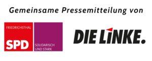 Presseveröffentlichung der SPD & LINKE Friedrichsthal