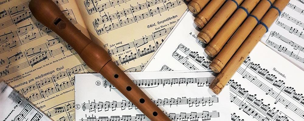 Singen und Instrumente