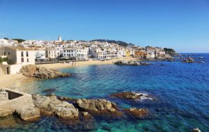 The fishing town of Palafrugell on the Costa Brava