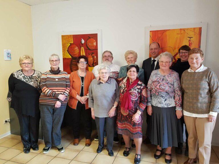 Der neue Vorstand der AWO Friedrichsthal | Bild: Stadt Friedrichsthal