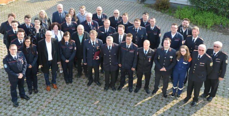 Die Kameraden der FFW Sulzbach | Bild: Stadt Sulzbach