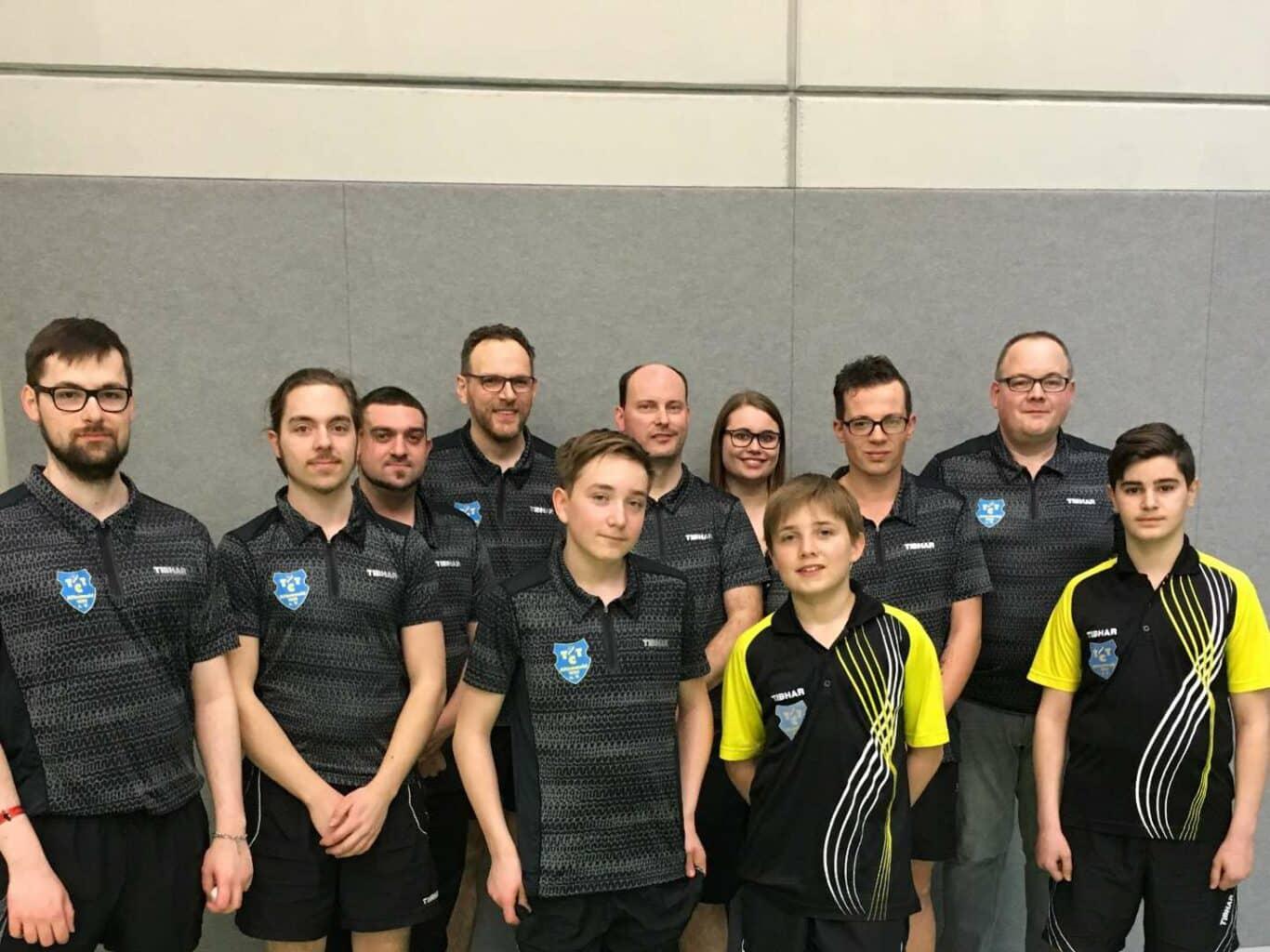 Meistermannschaft des TTC Altenwald | Bild: Florian Kern