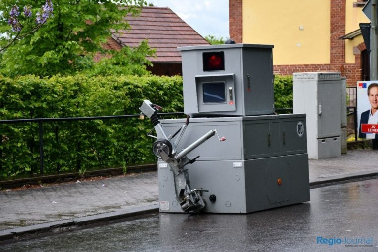 Mobile speed camera Maybach
