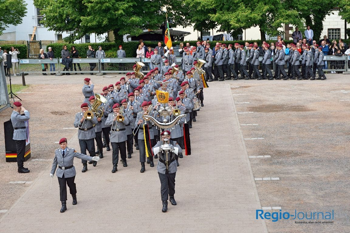 Gelöbnis Fallschirmjägerregiments 26 & ABC Abwehrbataillons 750