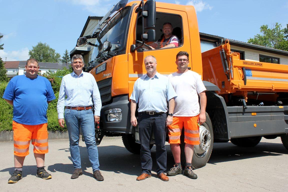 Fahrzeug Bauhof Quierschied