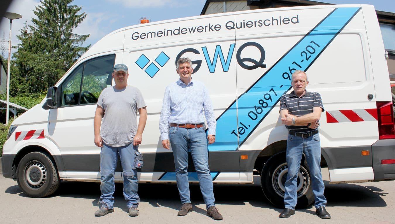 Neues Fahrzeug Gemeindewerke Quierschied
