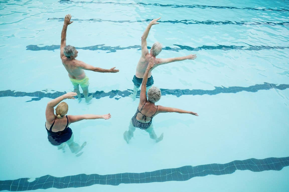 Bewegung im Alter hält fit