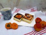 Aprikosen Quarkkuchen fertig zum Essen