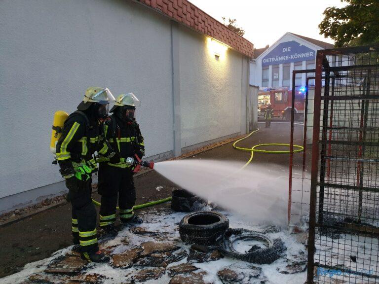 Einsatz Feuerwehr St. Ingbert