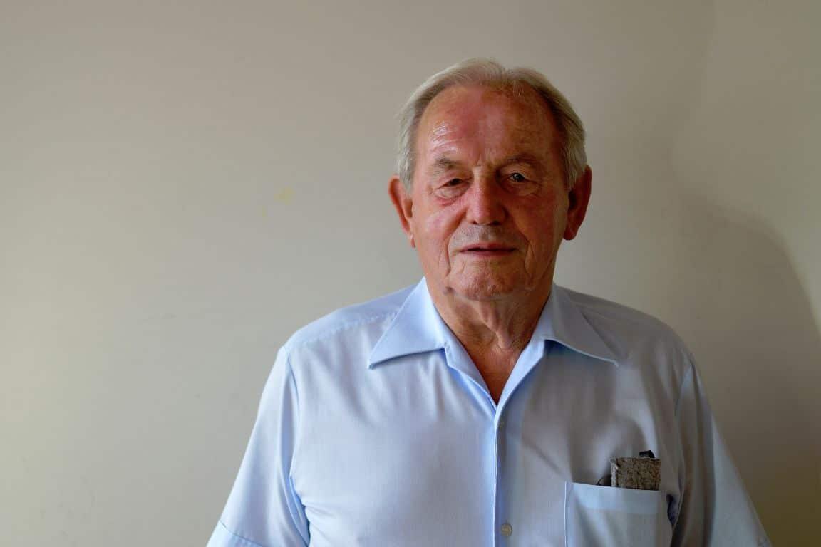 Harald Hauch, B90/Grüne, 81, Rentner