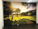 Spanndecken Bild mit Digitaldruck