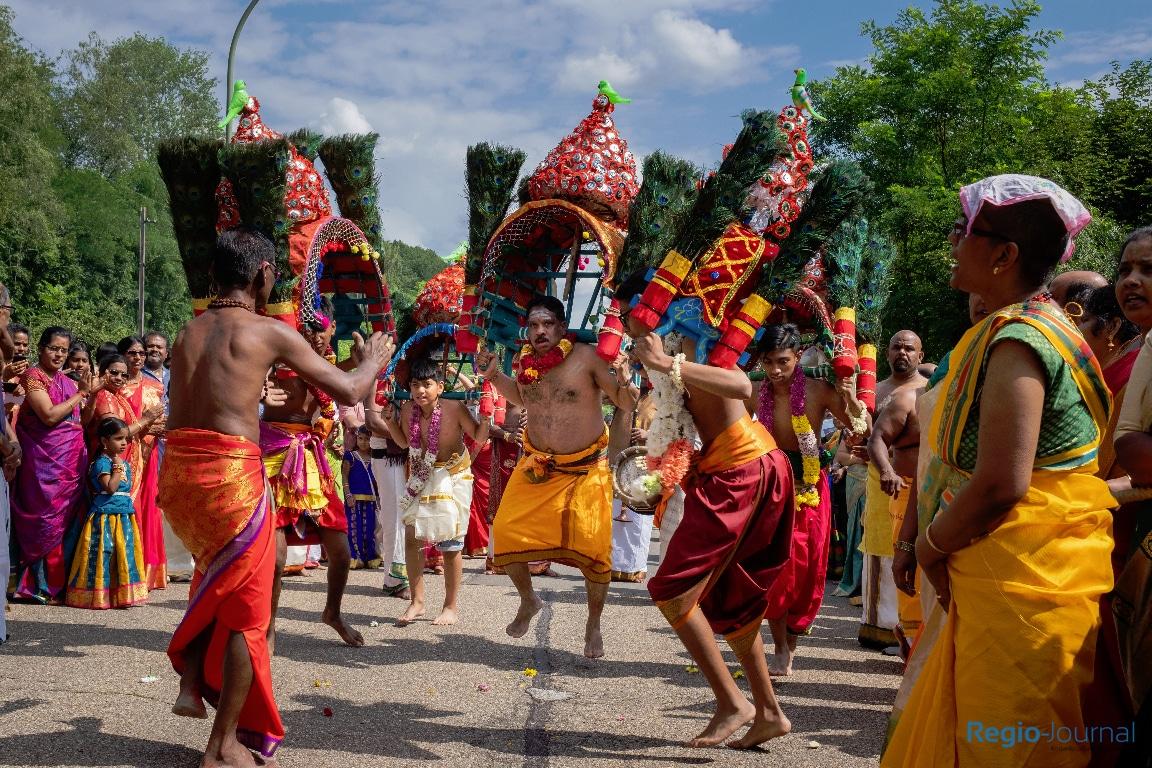 12. hinduistisches Tempelfest