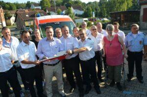 Feuerwehrfest + Fahrzeugübergabe FW Sulzbach