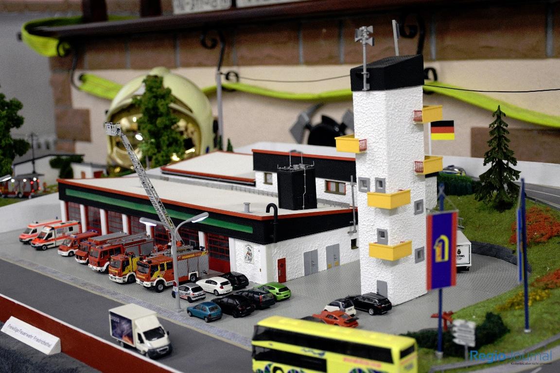 Ausstellung Modellbau Feuerwehr Saarland