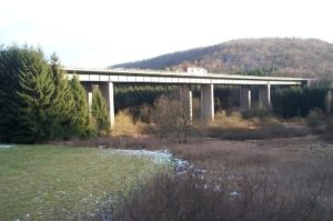 Grumbachtal bridge before renovation
