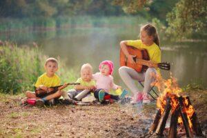Chanter avec des enfants