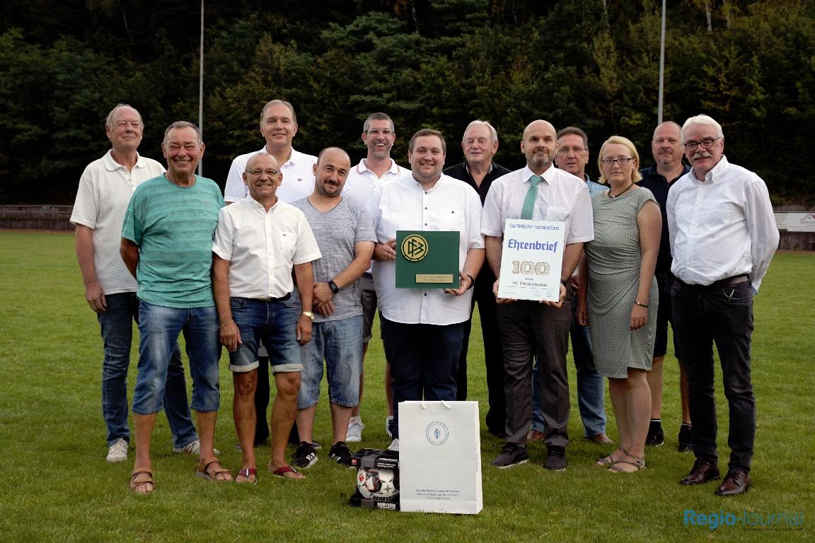 100 Jahre SC Friedrichsthal Abt. Fußball