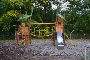 Play equipment in the Röchlingpark
