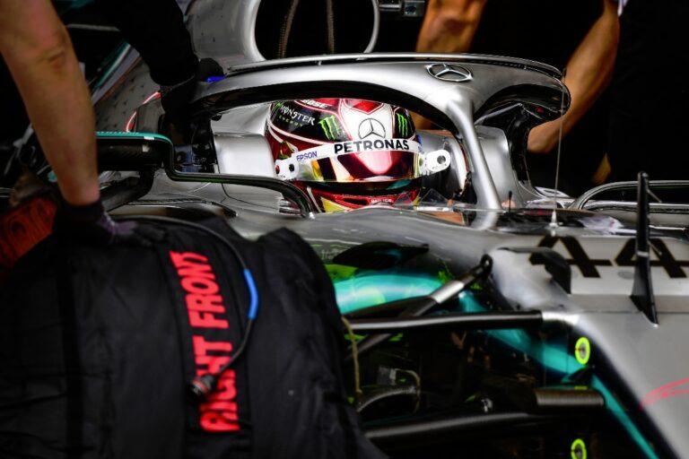 Lewis Hamilton at the 2019 Austin Grand Prix
