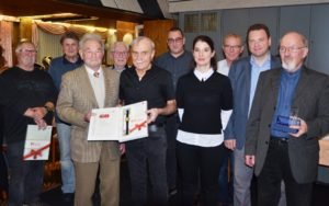 IGBCE Chicken Field honored its members