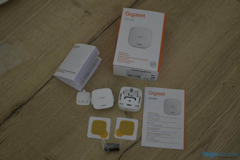 Package contents Gigaset climate