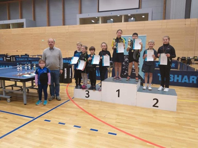 The Saarland champions of the TTC Altenwald