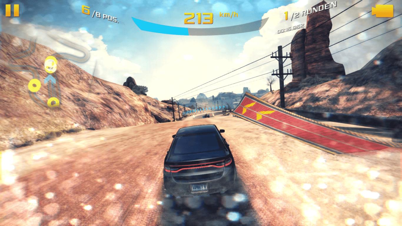 Gameplay-Shot Asphalt 8