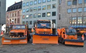 Gritting vehicles Sulzbach