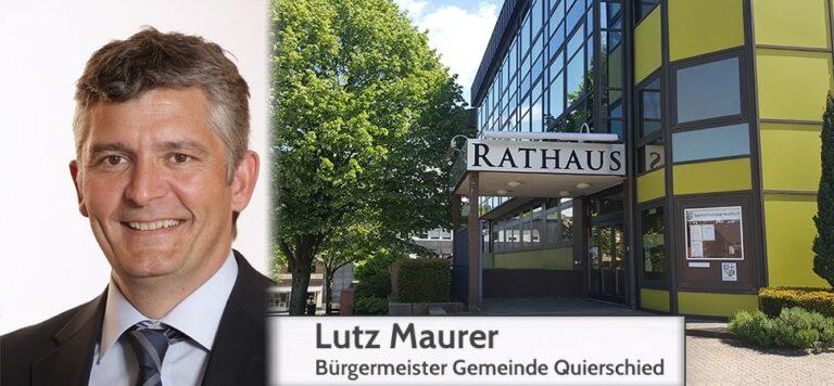 Bürgermeister Lutz Maurer