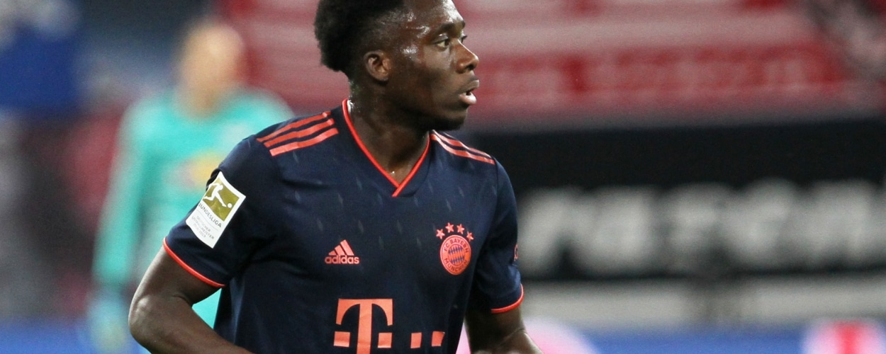 Alphonso Davies (FC Bayern), über dts