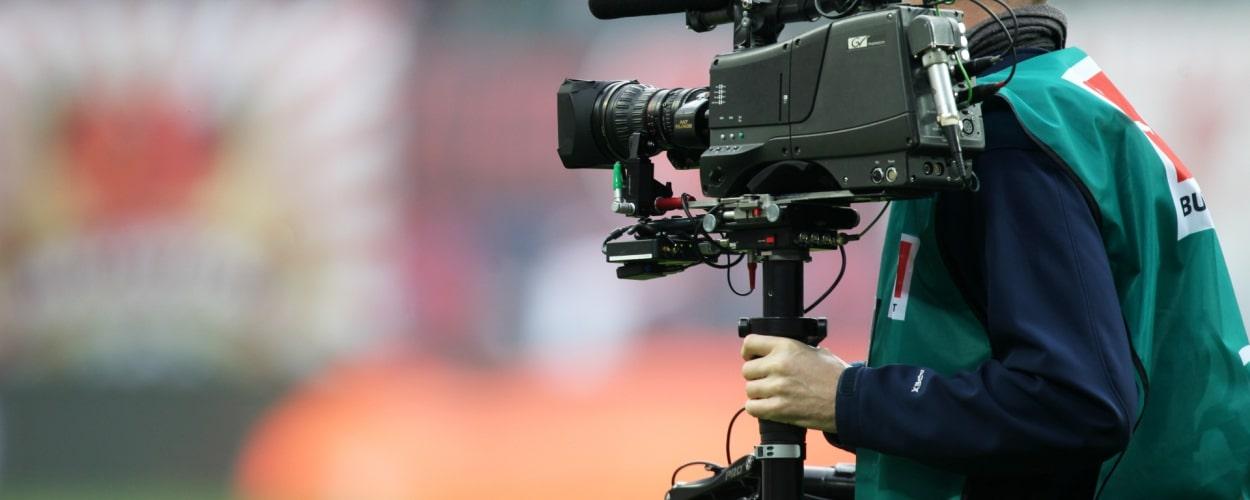 Fernsehübertragung eines Bundesliga