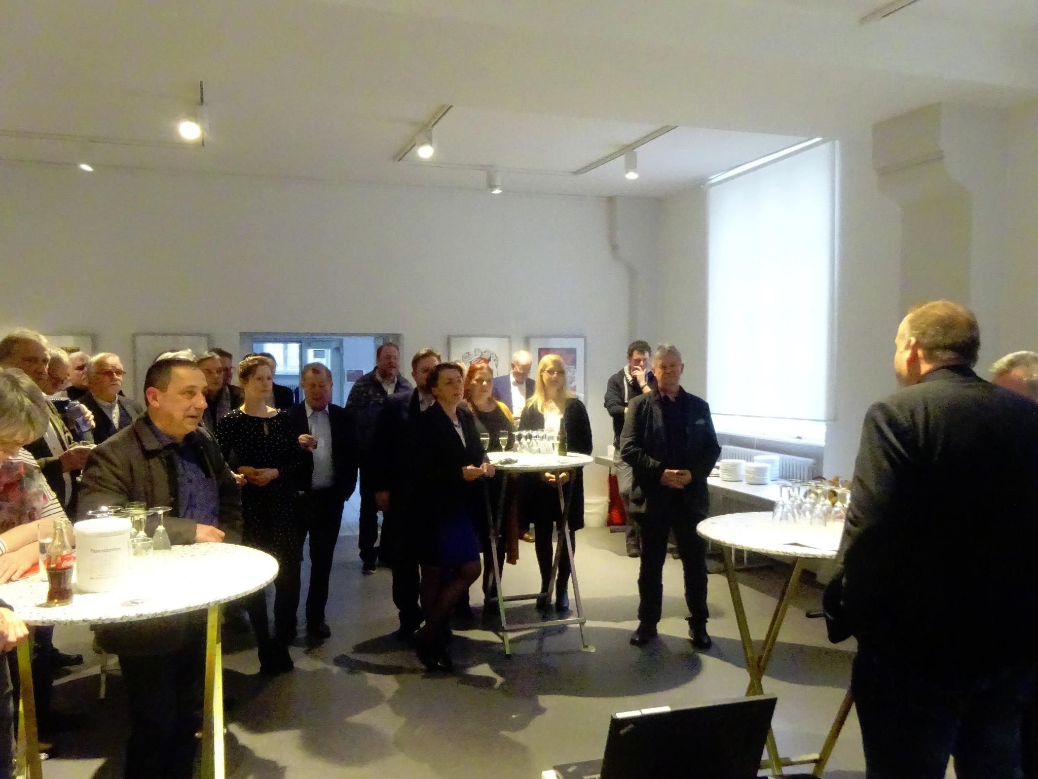 Neujahrsempfang 2020 Stiftung Rechtsschutzsaal