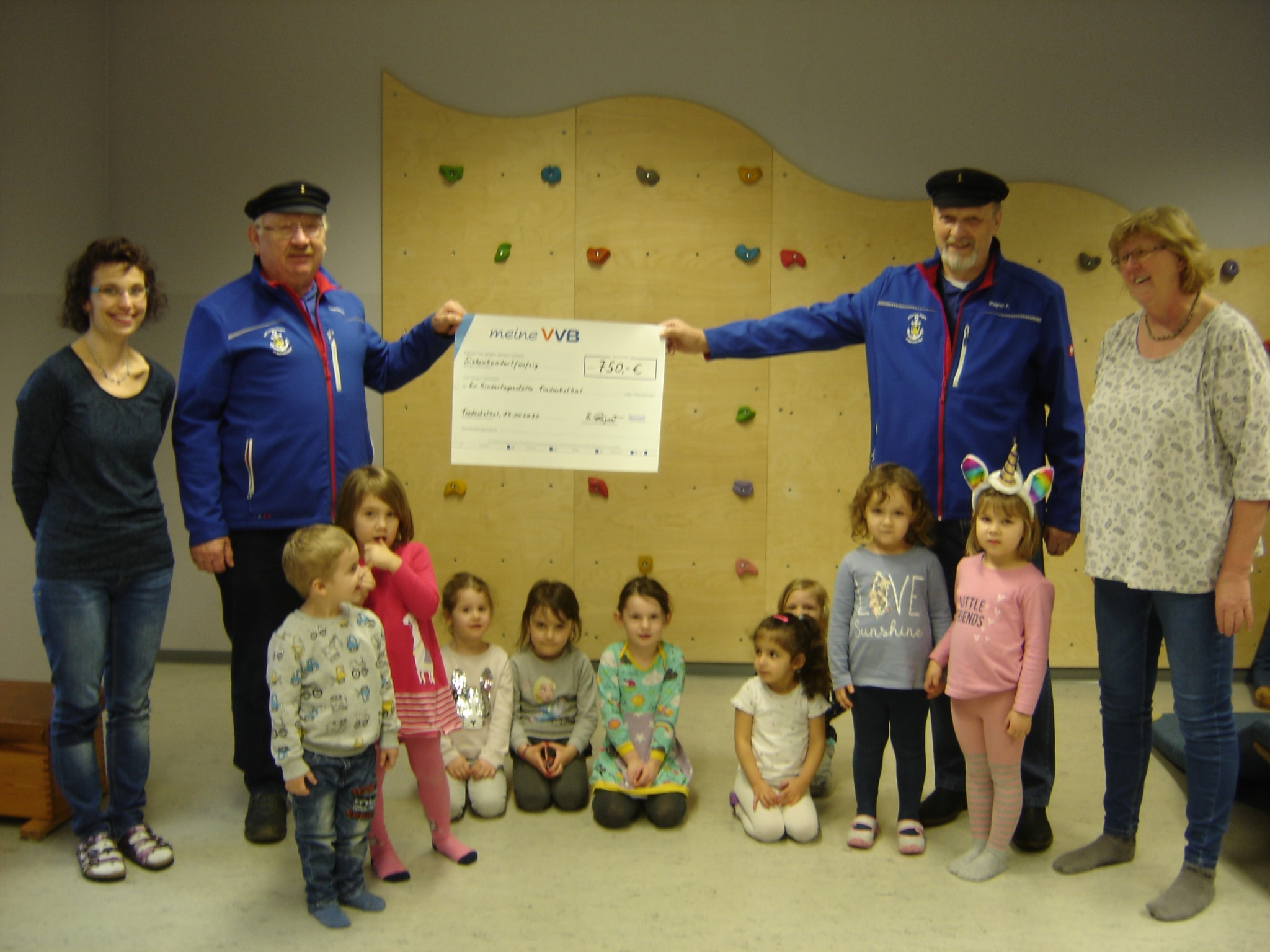 Spendenübergabe der Marinekameradschaft Prinz Eugen